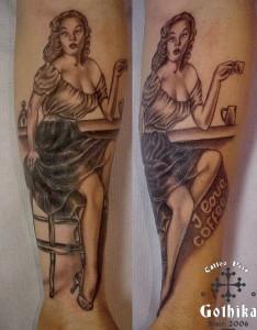Pinup caffè